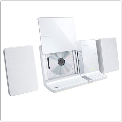 Микрокомпонентная CD-система JVC для iPad/iPhone