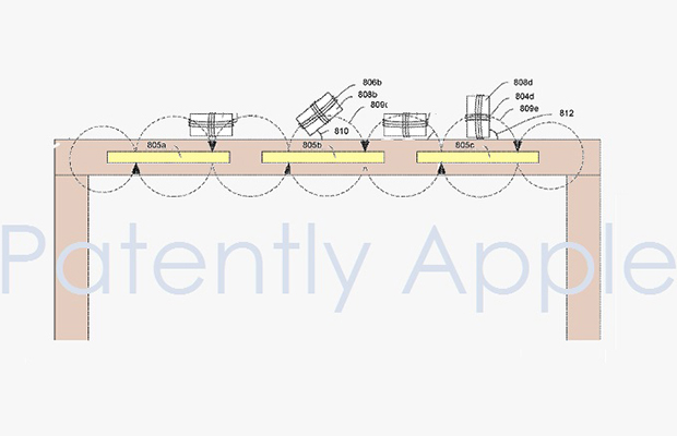Apple занимается разработкой стола сбеспроводной зарядкой