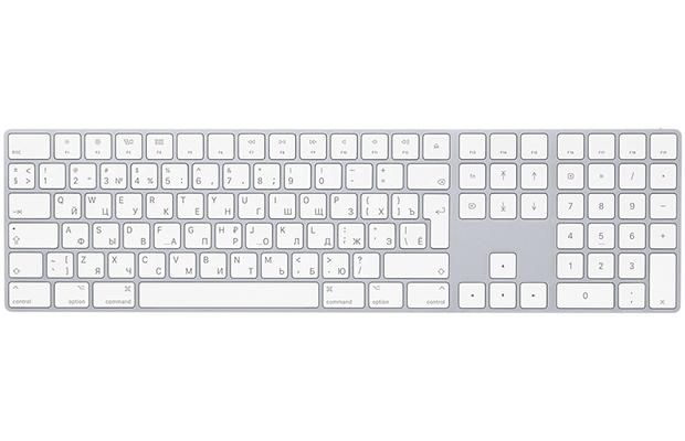 WWDC-2017: Apple представила клавиатуру Magic Keyboard нацифровой панели