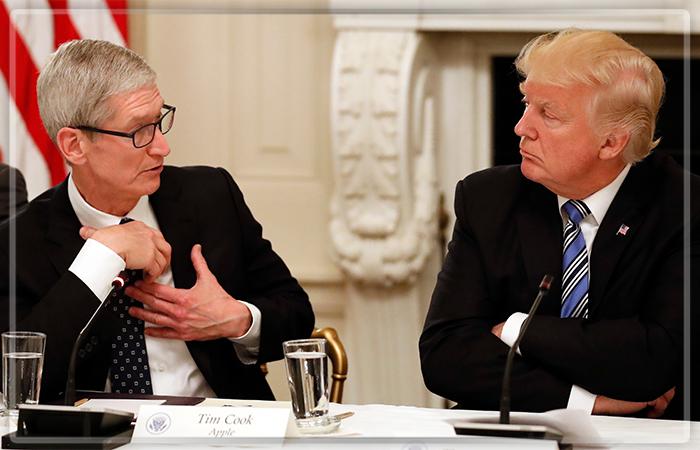 Apple готова начать производство iPhone вШтатах— Дональд Трамп