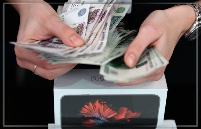 Прибыль Apple в РФ втечении следующего года увеличилась в1,7 раза