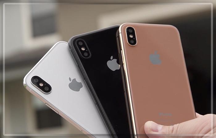 Винтернете появились два новых ролика сучастием iPhone 8