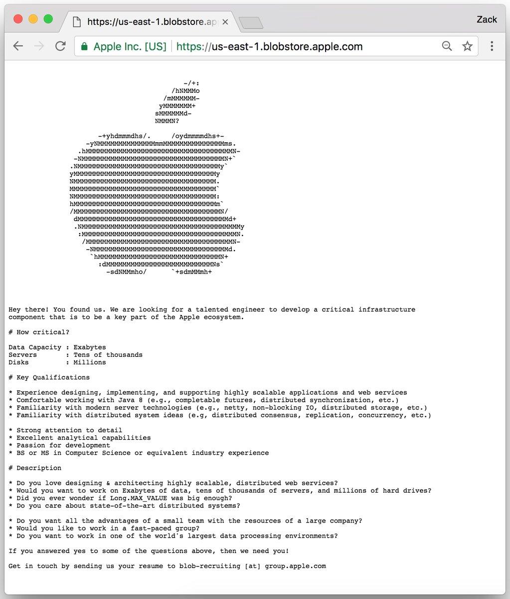Apple ищет программиста: тайная зашифрованная вакансия предназначалась «инженеру отБога»