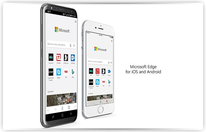Браузер Microsoft Edge все-таки возможно выйдет наiOS и андроид