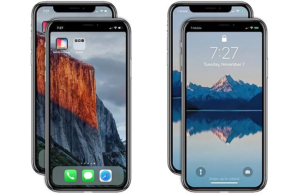 Apple одобрила приложение, скрывающее вырез наверху экрана iPhone X