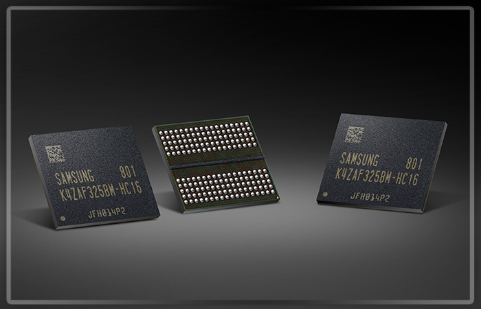 Самсунг Electronics начала массовое производство памяти GDDR6
