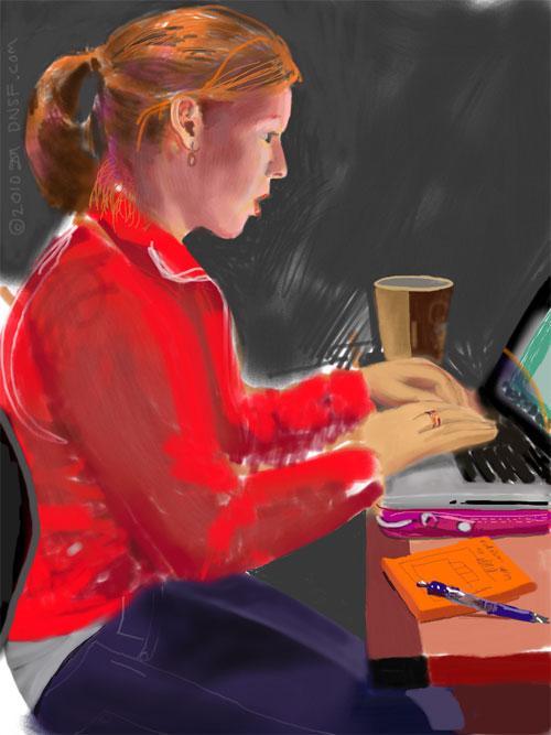 что рисование на iPad уже